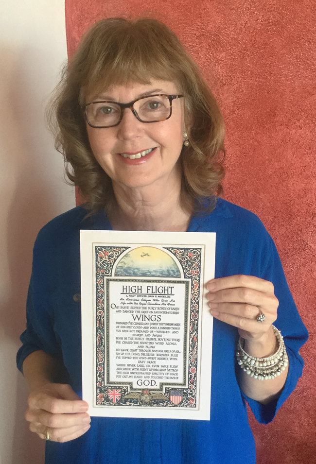 High Flight Written 75 Years Ago Elinor Florence