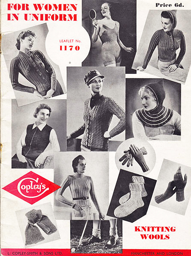 Wartime Knitting for Victory -- Elinor Florence