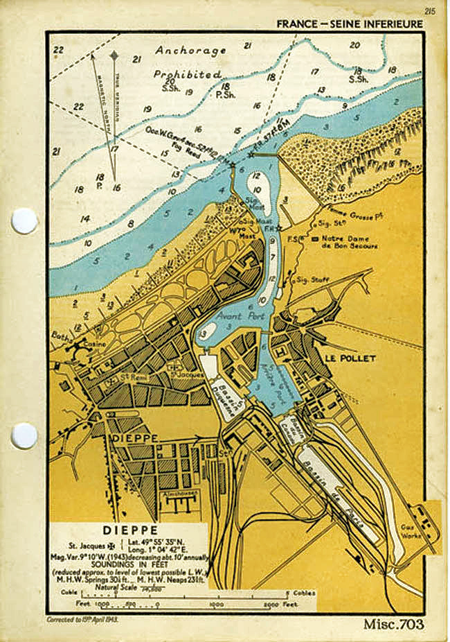 Disaster at Dieppe -- Elinor Florence