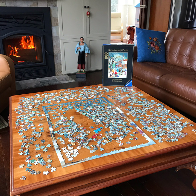 ten favorite Christmas traditions, Christmas jigsaw puzzle
