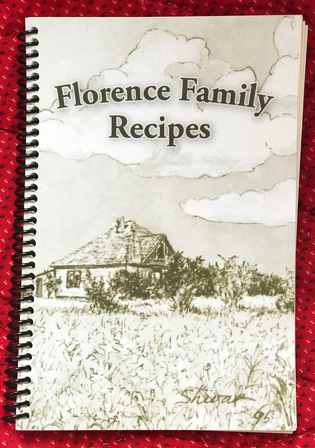 ten favourite Christmas traditions, Florence Family Cookbook cover