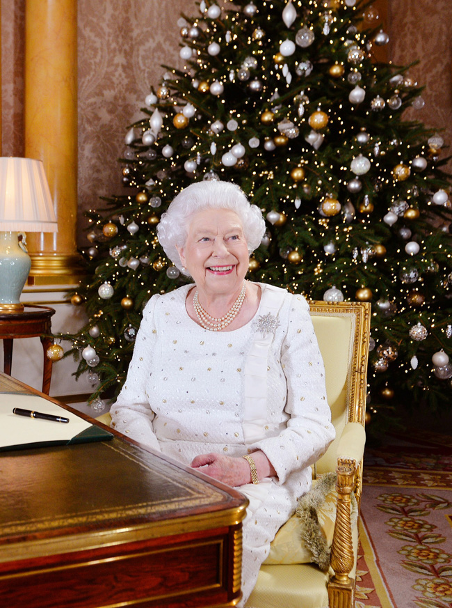 ten favorite Christmas traditions, Queen's Christmas message