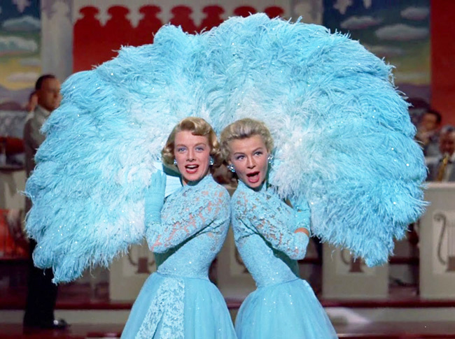 ten favourite Christmas traditions, Sisters musical act, from White Christmas