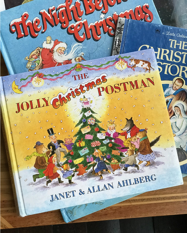 ten favorite Christmas traditions, The Jolly Postman children's book cover
