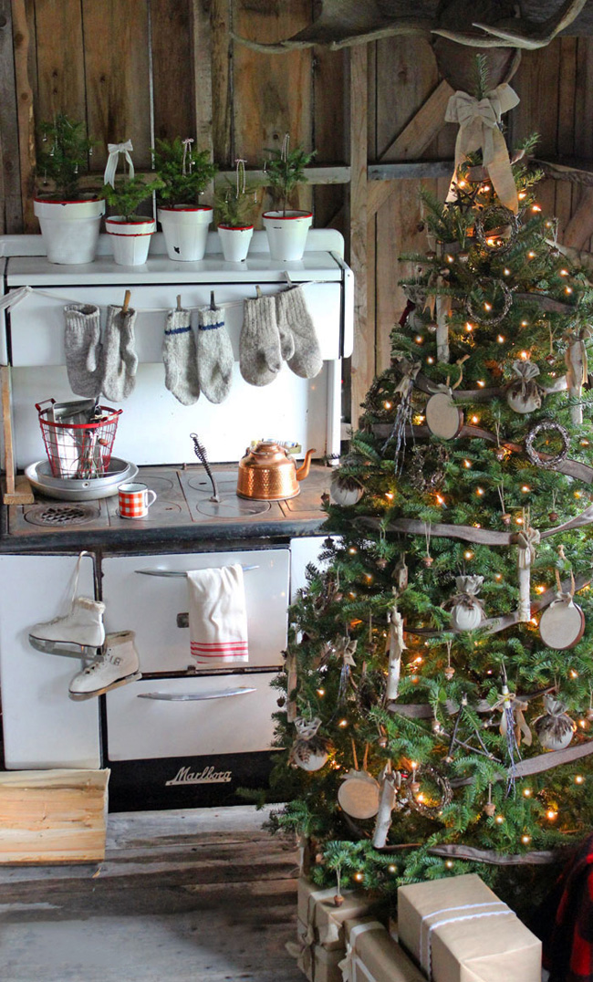 ten favourite Christmas traditions, rustic Christmas kitchen, Wildwood