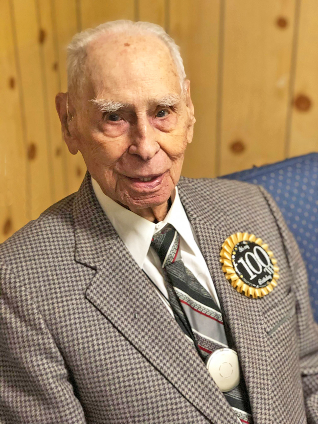 RCAF veteran Ben Scaman turned 100 Years old on January 23, 2020