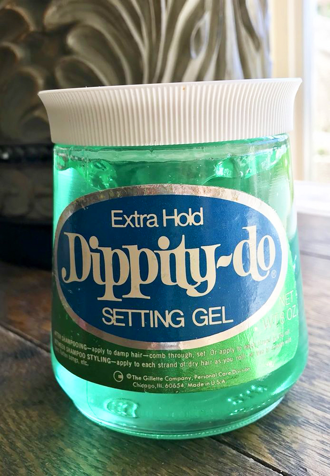 Dippity-Do vintage hair styling gel