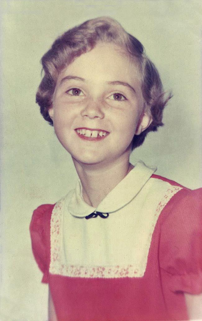 Elinor Florence, 1962, Grade 7 school photo