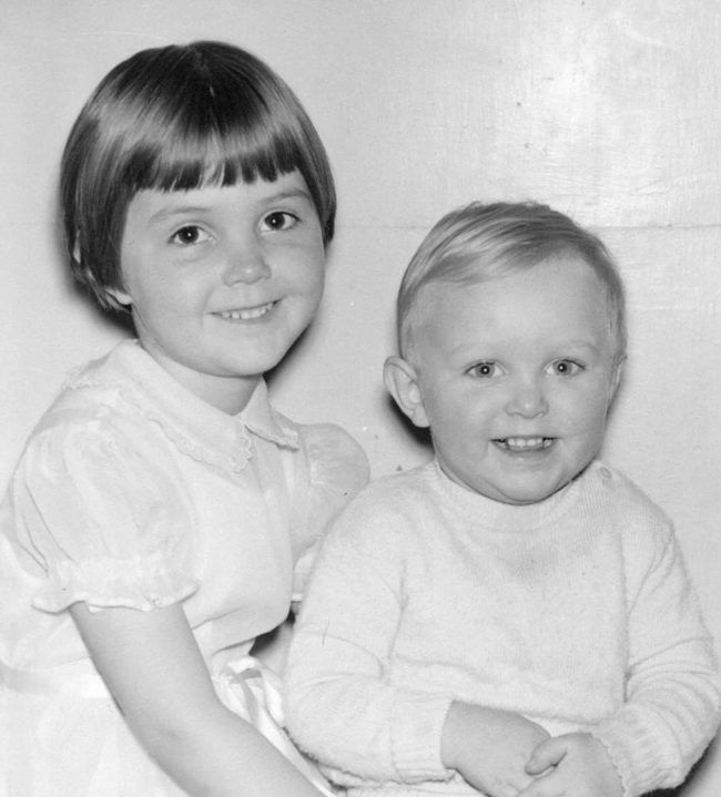 Elinor and Rob Florence, 1955