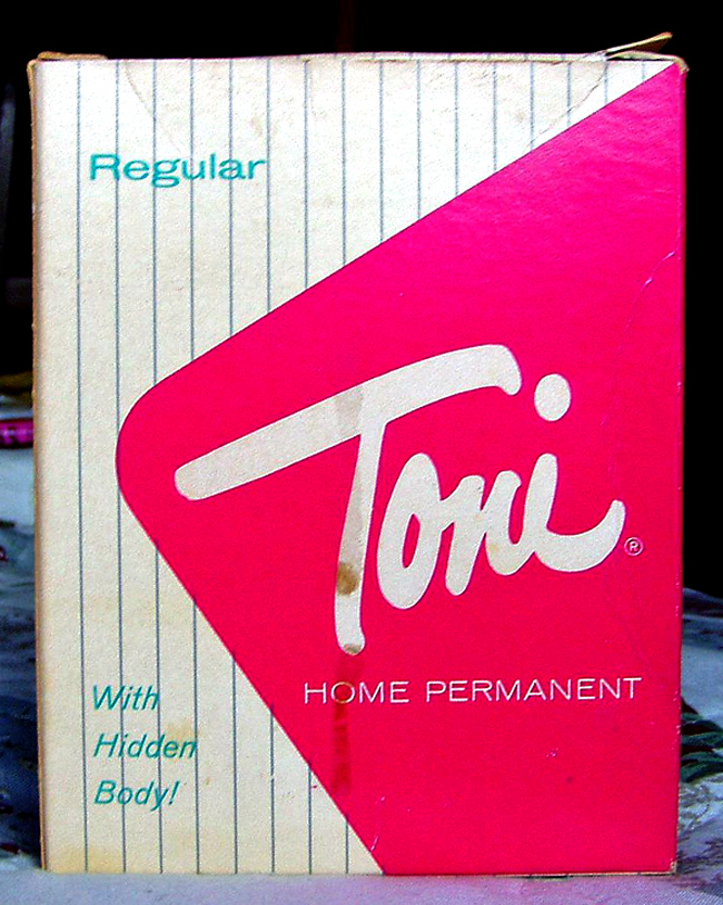 vintage Toni home perm for curly hair