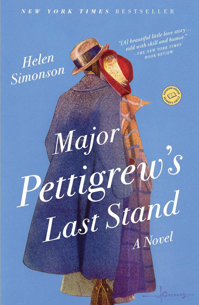Major Pettigrew's Last Stand, by Helen Simonson, comfort reading