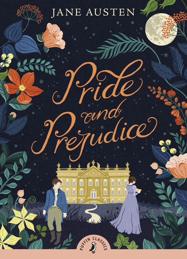 Pride and Prejudice, by Jane Austen, comfort reading