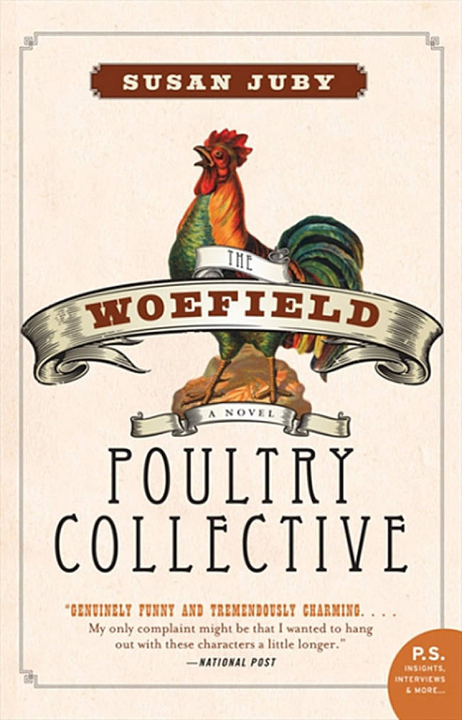 The Woefield Poultry Collective, by Susan Juby, comfort reading