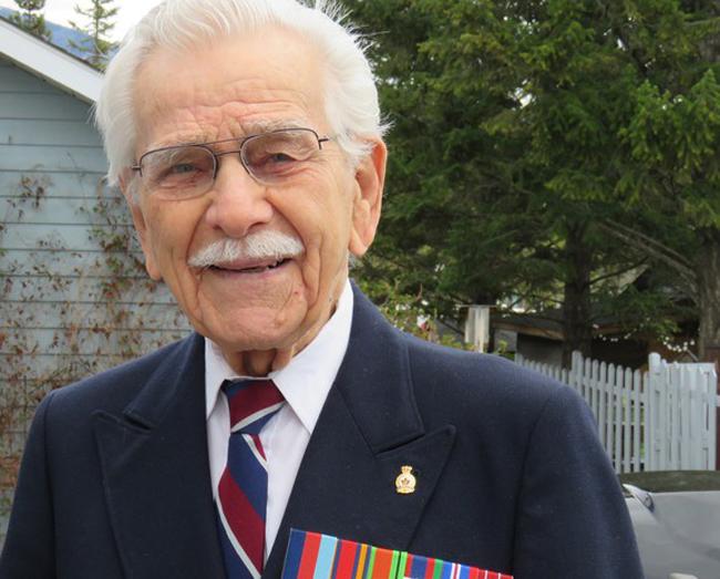 Jim Ashworth, RCAF veteran, 101 years old, May 2020