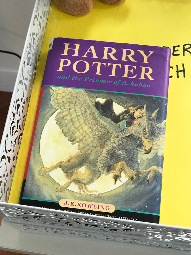 home office Harry Potter and The Prisoner of Azkaban