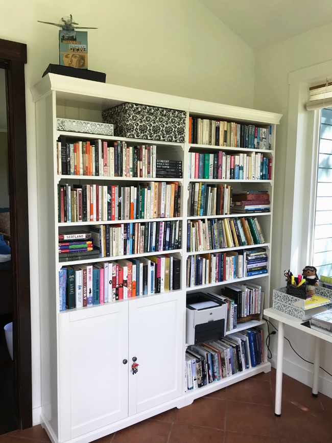 home office bookcase, Elinor Florence