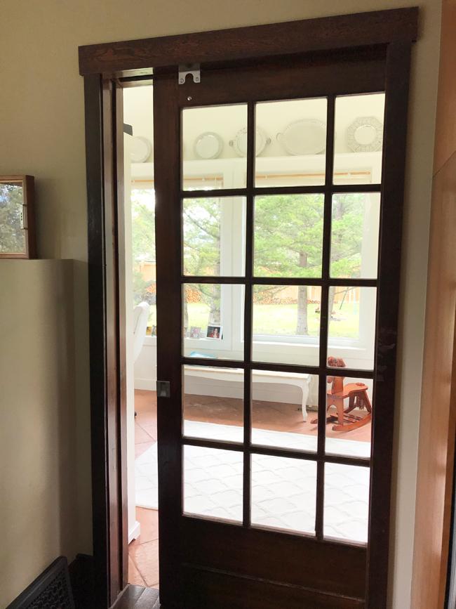 home office glass door, Elinor Florence