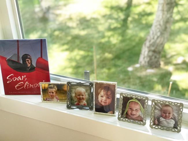 home office grandchildren photos, Elinor Florence
