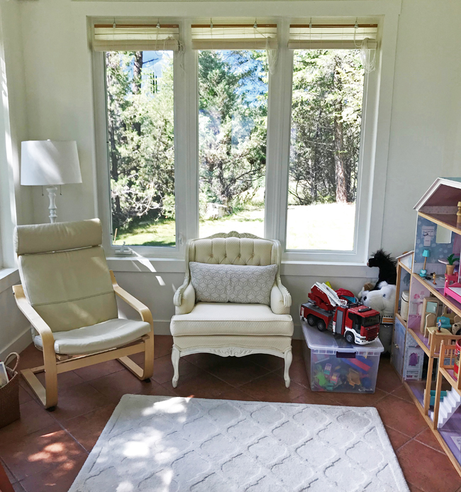 home office seating area, Elinor Florence
