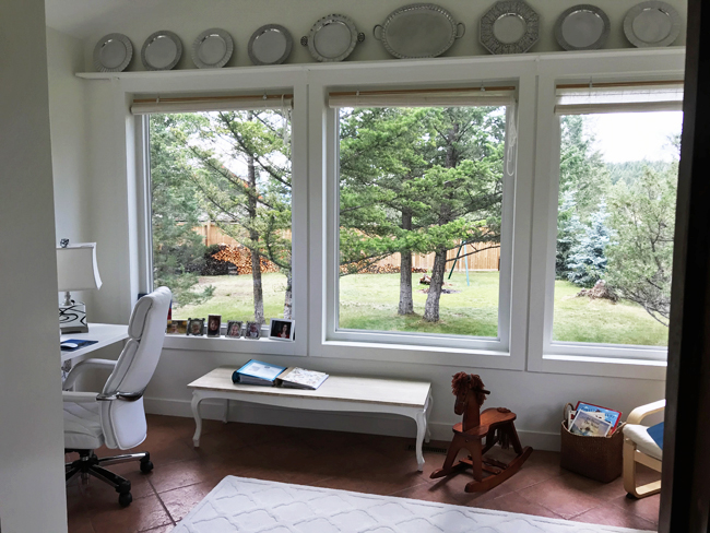 home office large windows, Elinor Florence