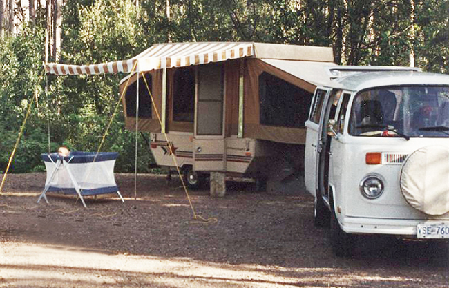 vintage camper renovation, new 1989 Starcraft