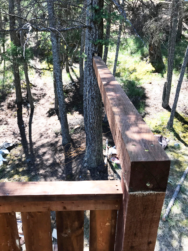 TREEHOUSE beam for swings