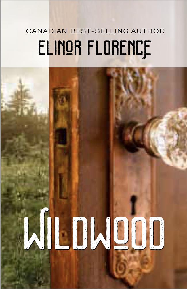 Wildwood book cover design, crystal doorknob