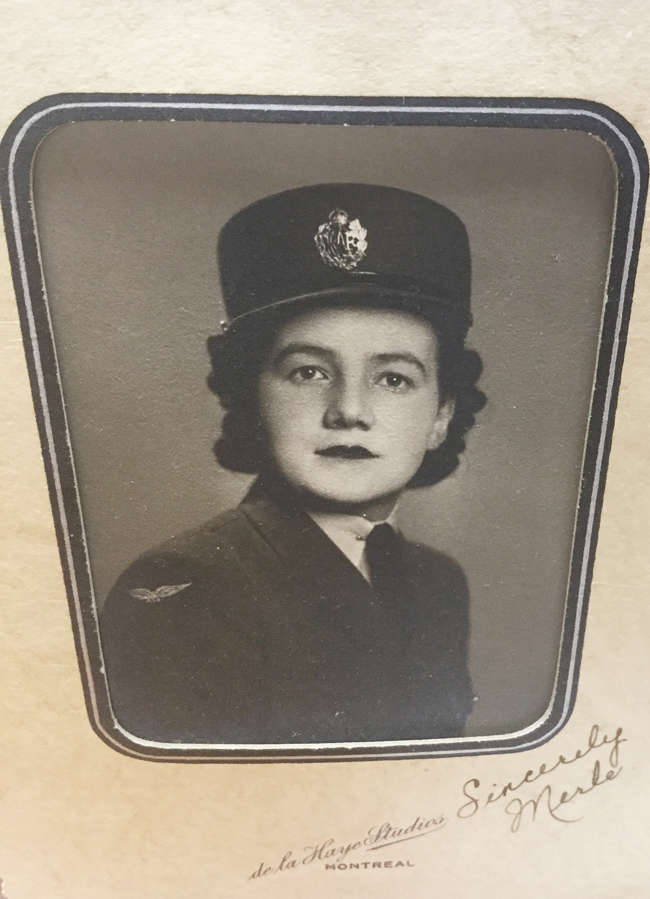 Merle McIntyre Taylor, Royal Canadian Air Force