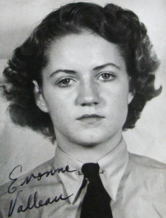 Yvonne Valleau Wildman, Royal Canadian Air Force