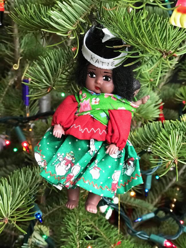 Traditional tree ornament, Tarahumara doll