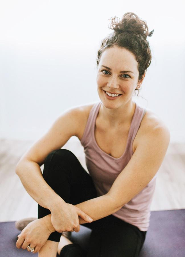 Lana Osborne-Paradis, fitness trainer