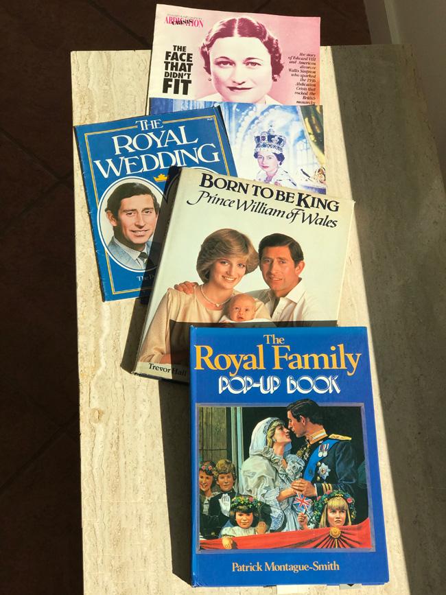 Collection of royal family memorabilia