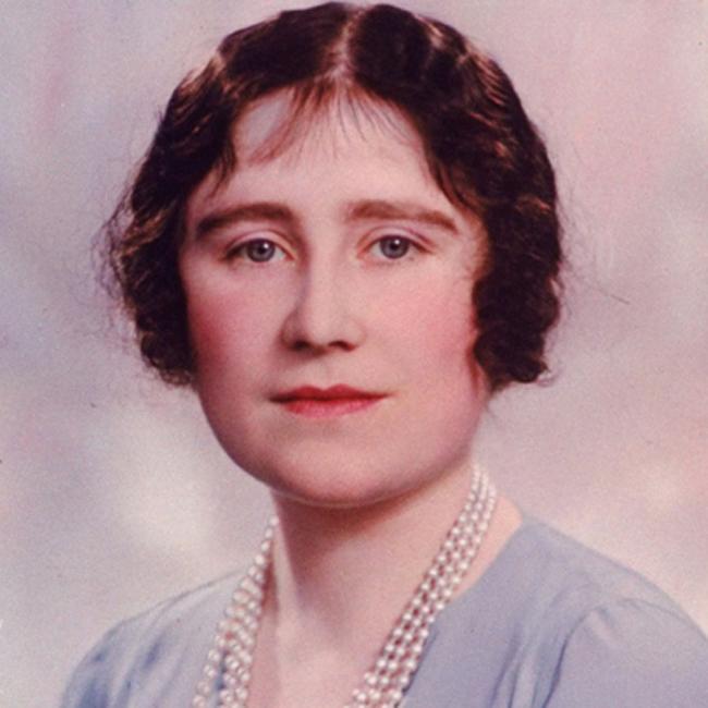 Queen Elizabeth, the Queen Mother in her youth