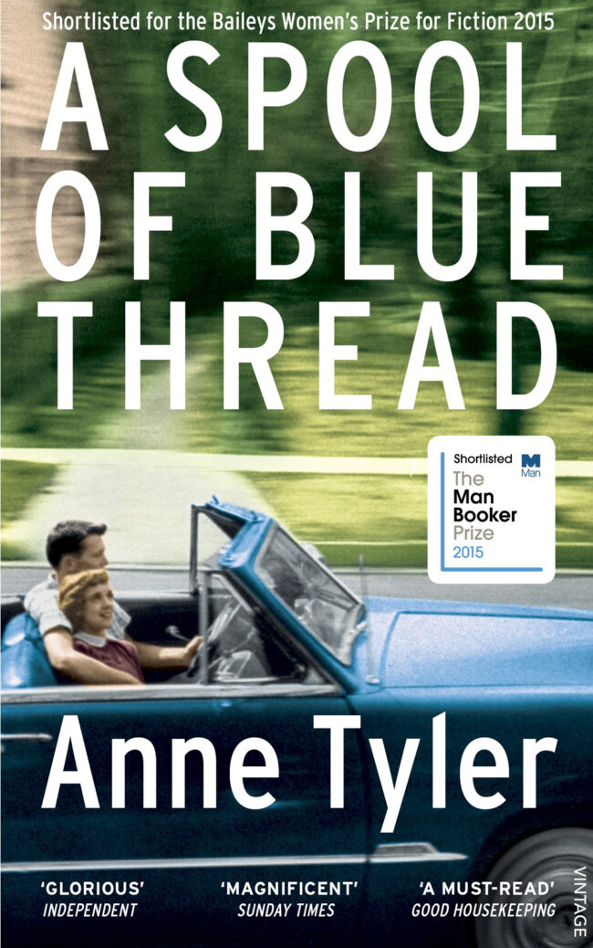 A Spool of Blue Thread, by Anne Tyler, book cover