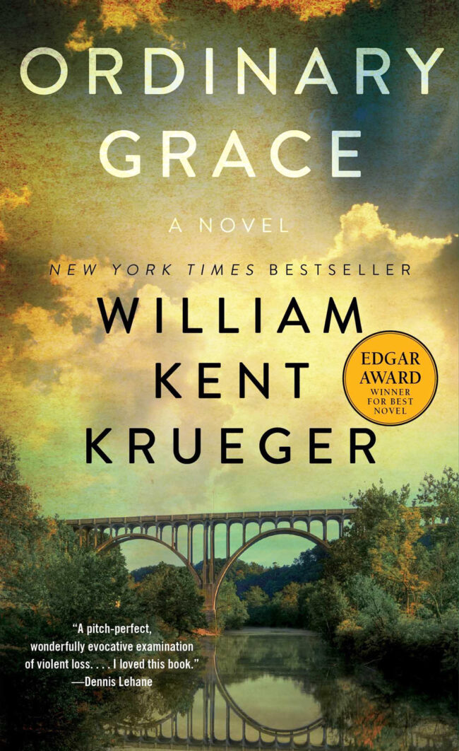 Ordinary Grace, by William Kent Krueger, book cover