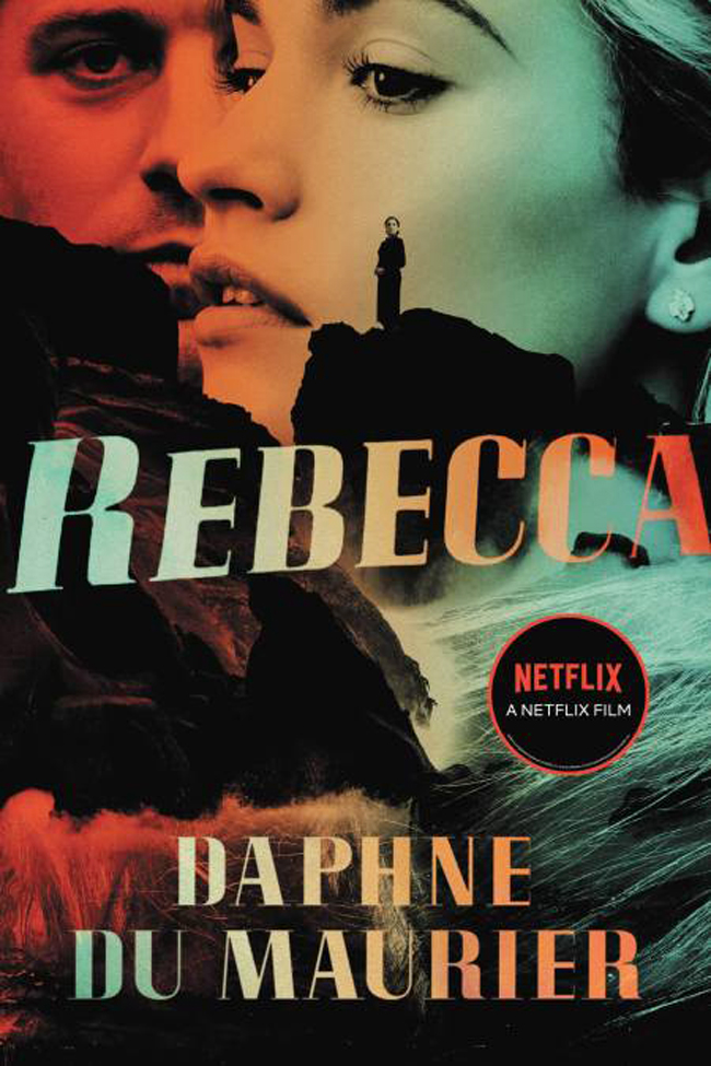 Rebecca, by Daphne Du Maurier, book cover