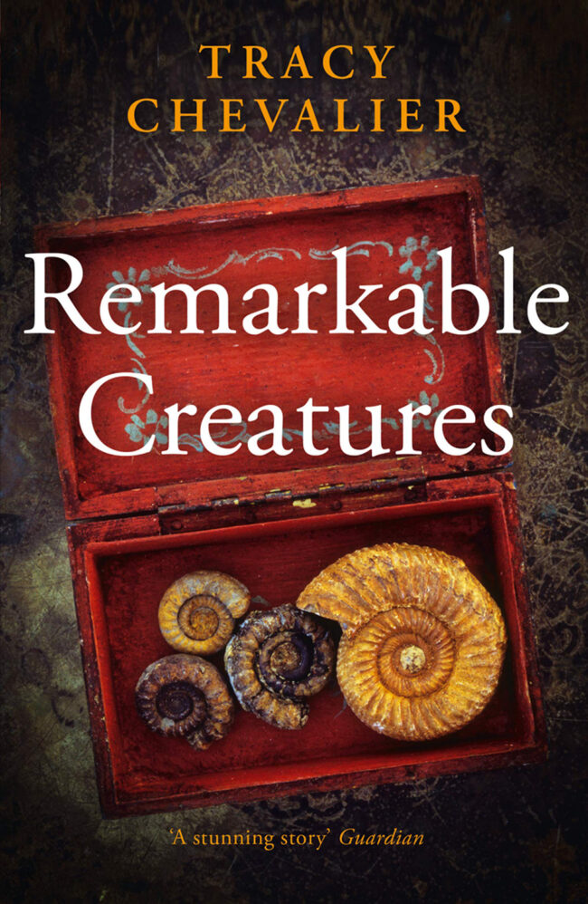 Remarkable Creatures, by Tracy Chevalier, book cover