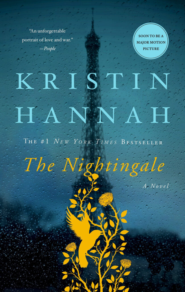 The Nightingale, by Kristin Hanna, book cover
