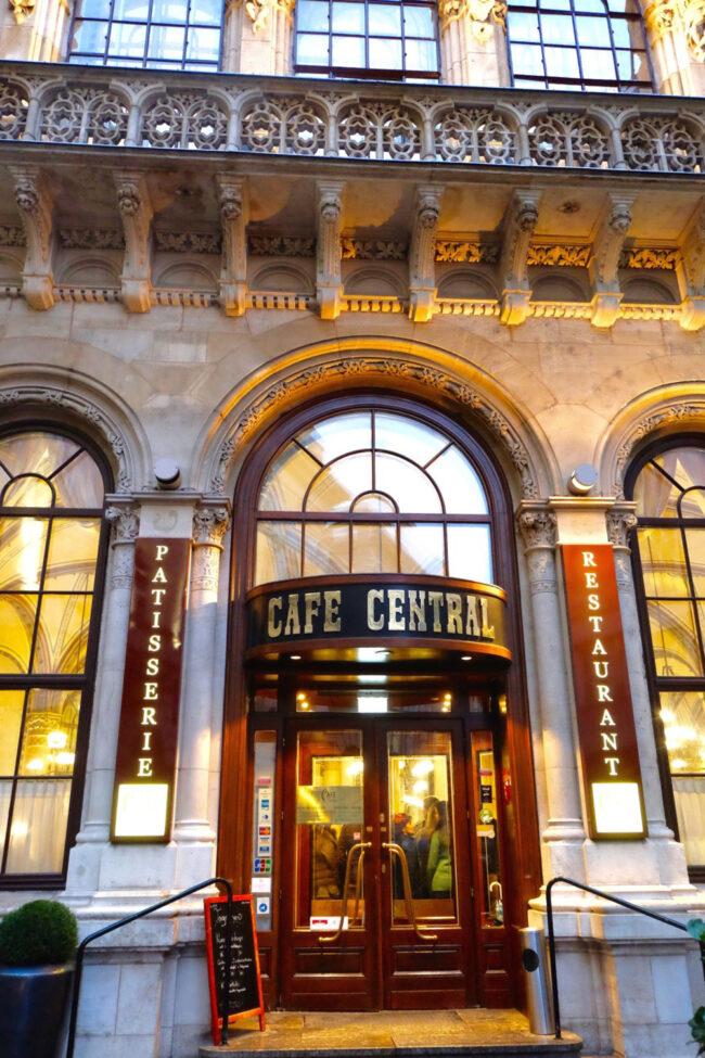 Top Ten Trips, Café Central, Vienna
