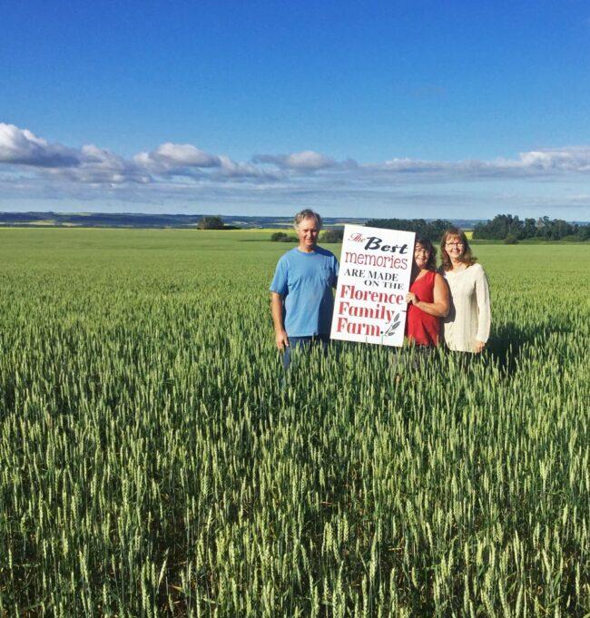 Top Ten Trips, Florence Family Farm, North Battleford, Saskatchewan