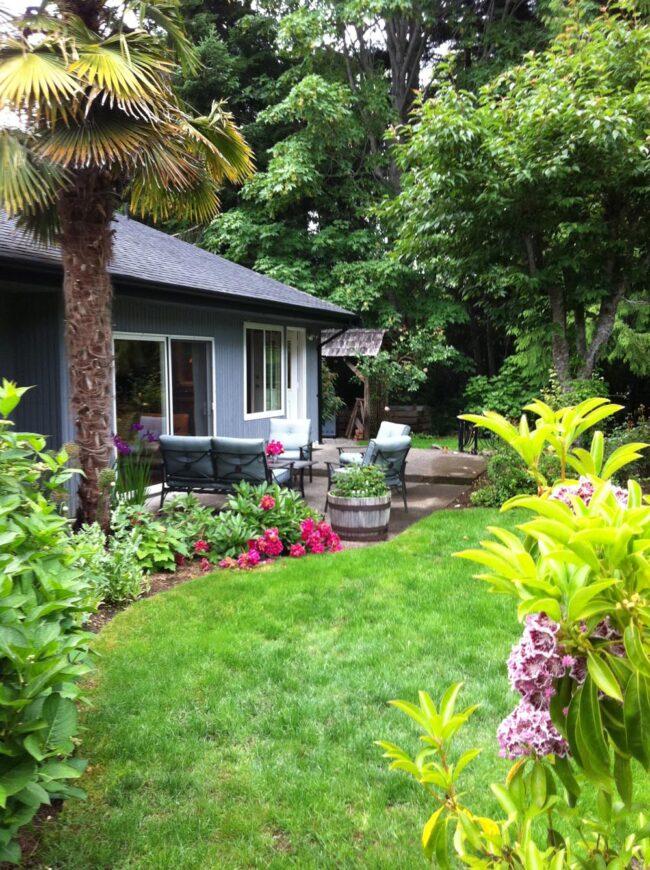 Top Ten Trips, Palm Tree Cottage, Qualicum Beach, B.C.